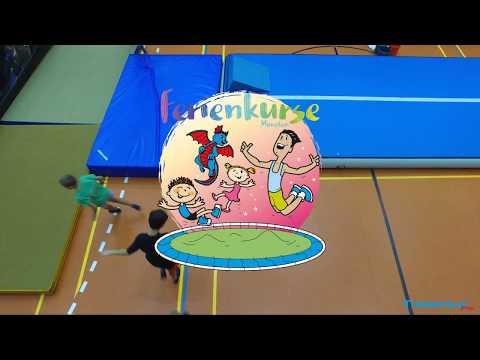 Trampolin.Pro Ferienkurs-Show für die Eltern (Sommerferien)