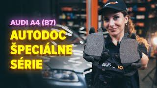 Ako vymeniť Čap riadenia na AUDI A4 (8EC, B7) - video sprievodca