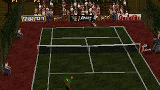 Tennis Arena Japan SEGA SATURN HYPERSPIN NOT MINE VIDEOS
