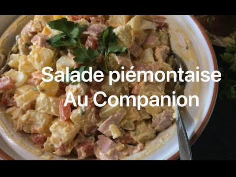 companion salade piemontaise ou salade de pommes de terre