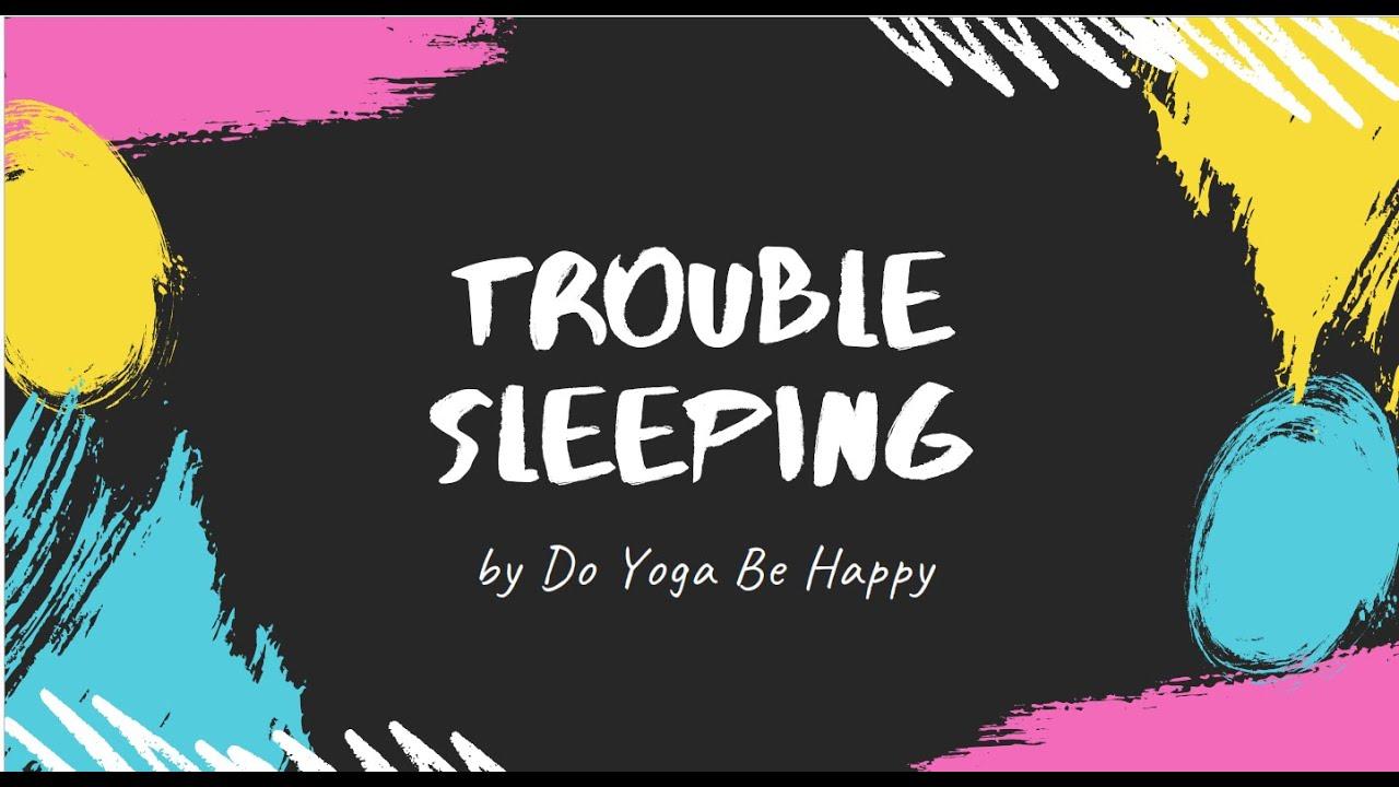 Trouble Sleeping?  Let me help you!