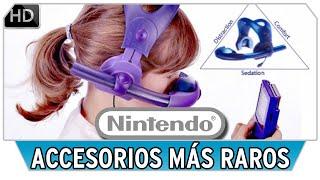 Los 15 Accesorios - Periféricos más Raros y Curiosos de Nintendo | NDeluxe