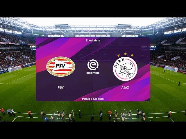 Psv Eindhoven Vs Ajax 2019 20 Eredivisie Pes 2020 Youtube