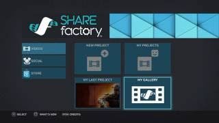 New SHAREfactory Update 1.08 Features