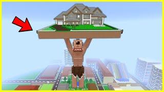 TEPEGÖZ KOCAMAN OLDU EVİ TUTUYOR! 😱 - Minecraft
