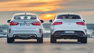 Bmw X6 M vs Mercedes-Benz AMG GLE63 S || 0-250 km/h Acceleration || Top Speed