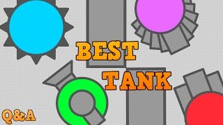 DIEP.IO MAZE BEST TANKS!! // New Spike Tank // Plus Q&A