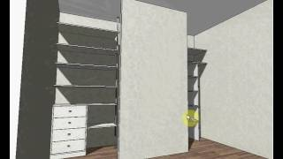 Проект шкаф-гардеробная(, 2016-06-12T08:35:33.000Z)