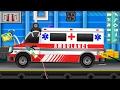 Ambulance Car Garage   Videos for Kids   Cartoon Cars for Children