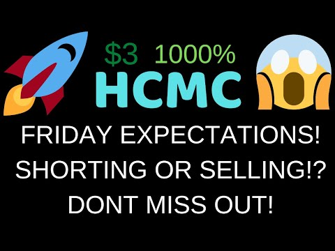 HCMC FRIDAY EXPECTATIONS! IS HCMC ABOUT TO SKYROCKET!? SHORT OR SELLER? MUST WATCH! HCMC ANALYSIS!
