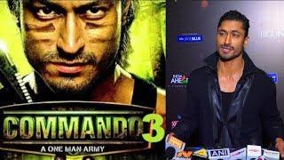 Vidyut Jamwal Talks About His Upcoming Movie Commando 3