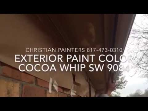 Exterior Paint Color Cocoa Whip Sw 9084 Painting Mansfield