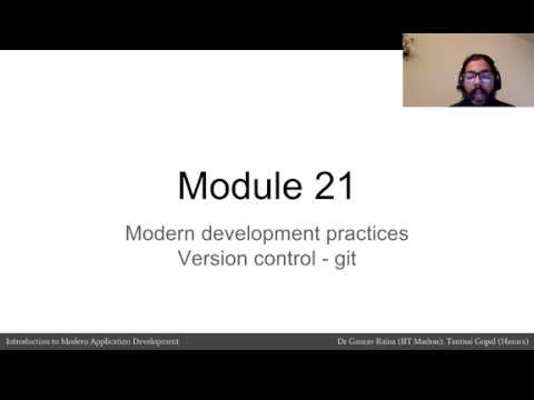 Module 21: Modern Development Practices (Version Control)