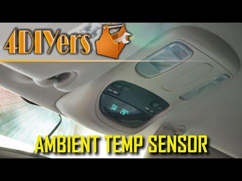 DIY: 02-08 Dodge Ram Ambient Air Temperature Sensor Testing and Replacement