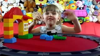 Лего Дупло Мой Первый Поезд. Lego Duplo My First Train