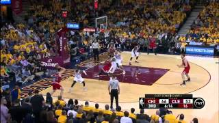 Chicago Bulls vs Cleveland Cavaliers: Game 1, NBA Playoffs - 4 May 2015 - Highlights