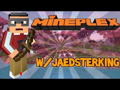 MinePlex W/ JaedsterKing (Funny Moments)