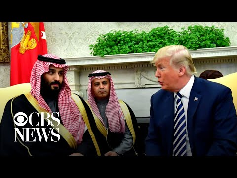 U.S. sanctions 17 Saudis over Khashoggi's murder