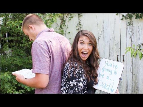 Thumbnail: ● Emotional Surprise Pregnancy Announcement to Family Compilation * 8