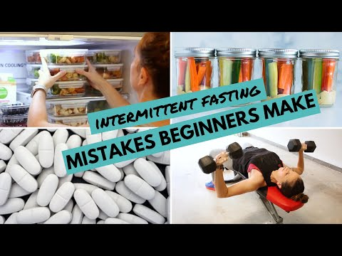 9 BIGGEST Intermittent Fasting MISTAKES Beginners Make (And How To Avoid Them!)
