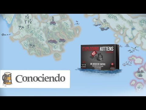 Conociendo Exploding Kittens Nsfw Youtube