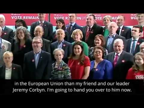 Jeremy Corbyn   BBC   The labour movement comes together