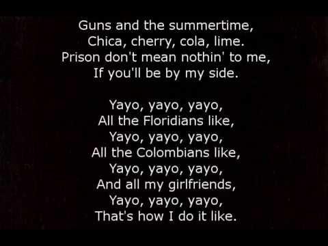Lana Del Rey - Florida Kilos [karaoke]