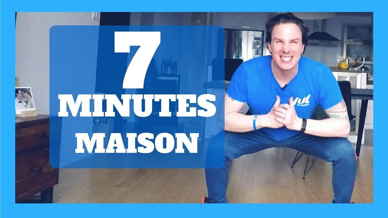 7 minute workout la maison entra nement rapide et efficace youtube. Black Bedroom Furniture Sets. Home Design Ideas