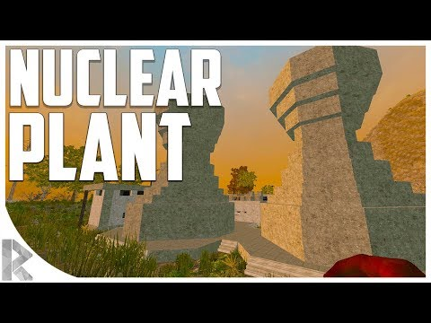 NUCLEAR POWER PLANT LOOT! - 7 Days to Die: War of the Walkers #18