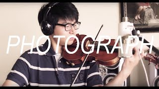 Photograph Ed Sheeran Violin Cover