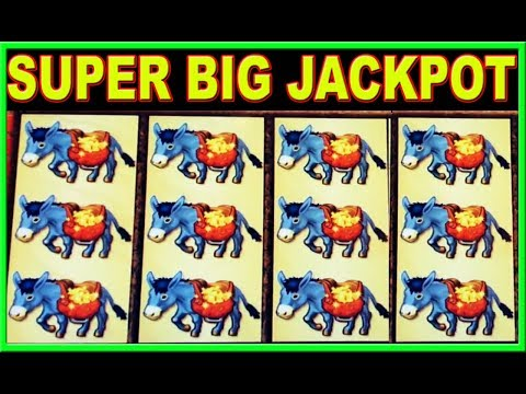 Super Mega Jackpot Handpay ★ Blasting Money Straight