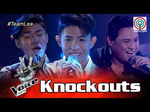 The Voice Teens Philippines Knockout Round: Julian vs Felipe vs Chan