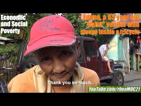 Travel to the Real Philippines: Poverty in Manila. Meet Emma, a Balut Street Vendor