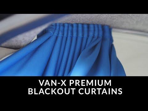 Van-x Premium Blackout Curtains