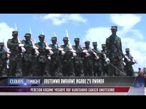 Clouds Tonight:Ubutumwa Perezida Kagame yageneye ingabo z'u Rwanda