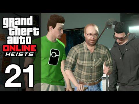 Stephen & Friends: GTA Online #21 - Fleeca Job Heist