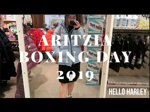 Aritzia Boxing Day Shopping 2019| Shop With Me!
