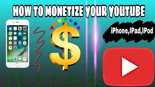 HOW TO MONETIZE YOUR YOUTUBE CHANNEL