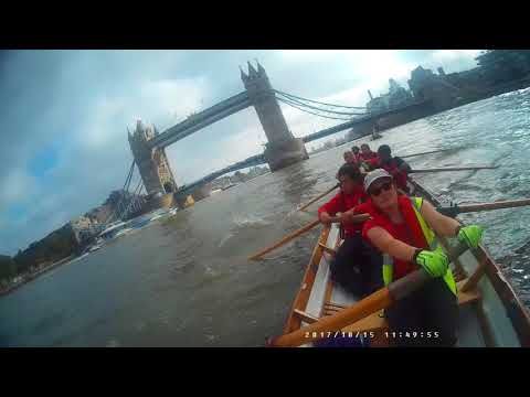 Rowing challenge - Tower Bridge