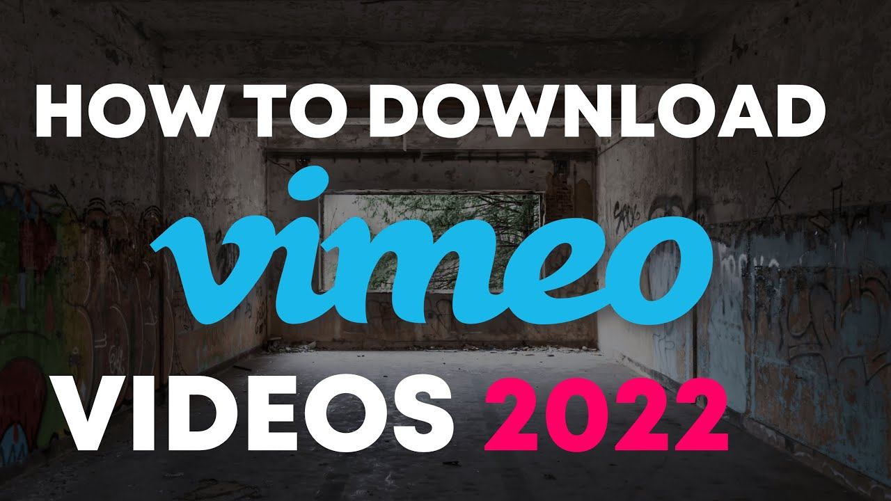 [Solved ] How to download Private Vimeo videos ( August 2019 )
