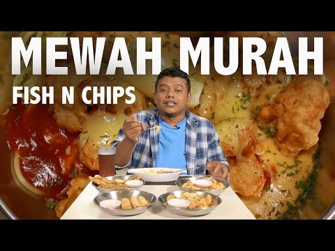 Fish And Chips Yang Cheap | Fish And Chips Murah Dan Mewah