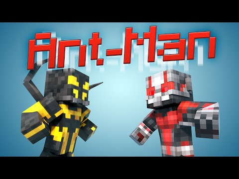 Minecraft Parody - ANTMAN! - (Minecraft Animation)