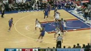 Rodney Stuckey crossover on Allen Iverson