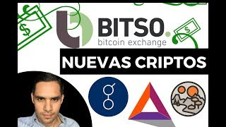 NUEVAS - #CRIPTOMONEDAS #BITCOINS BITSO- #EXCHANGE-