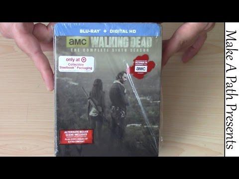 The Walking Dead Season 6 Blu Ray Steelbook TARGET EXCLUSIVE REVIEW