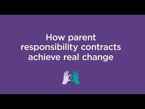 Parent responsibility contracts
