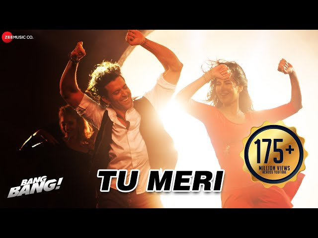 Tu Meri Full Video | BANG BANG! | Hrithik Roshan & Katrina Kaif | Vishal Shekhar | Dance Party Song