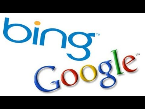 how to replace bing with google as default search engine