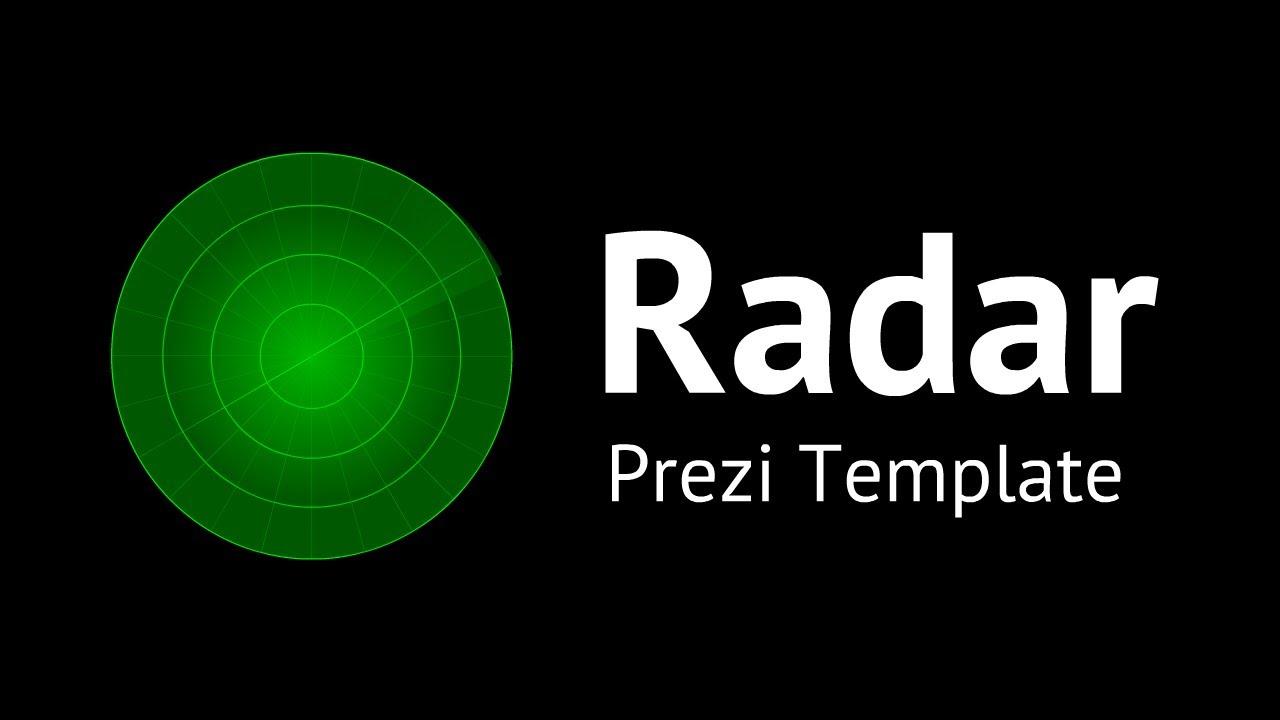Animated radar prezi template youtube toneelgroepblik Gallery
