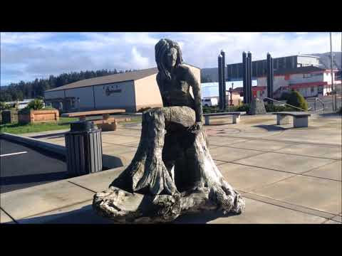 Harbors and docks of Crescent City; California; Sea Hag; Tsunami water level